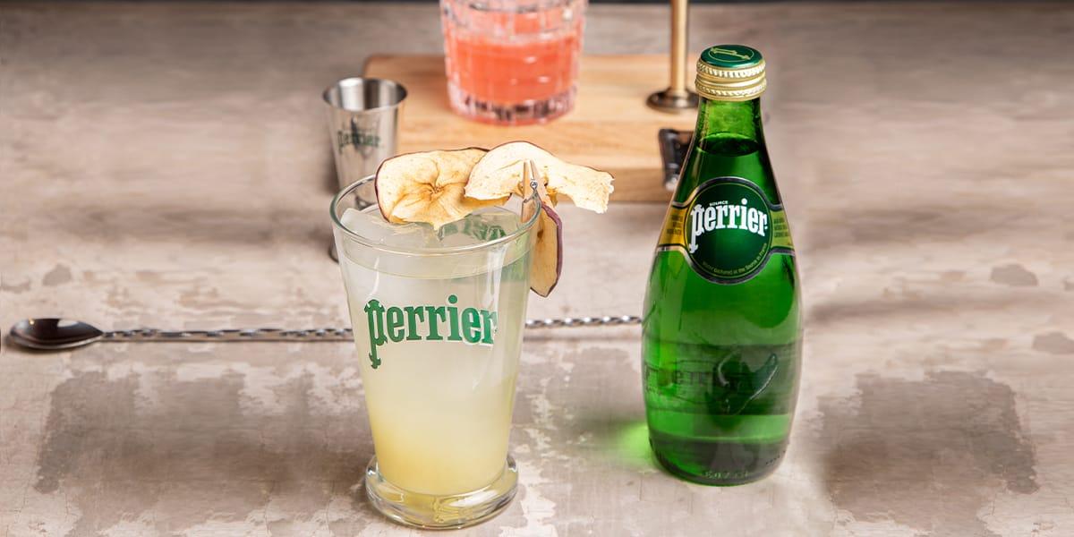 Coctel Green Perrier