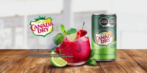 canada dry coctel sin alcohol
