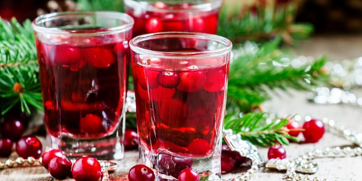 Bebida-de-arandano-para-navidad