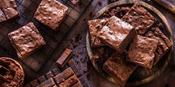Brownies-sin-horno