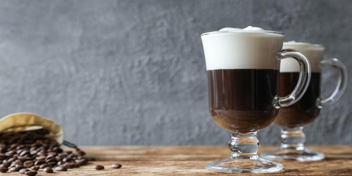 café irlandés receta