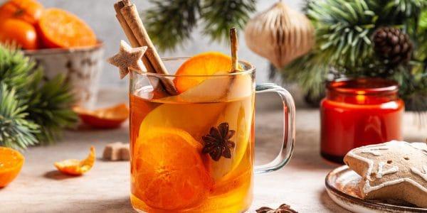 Ponche-frio-de-vino blanco-y-mandarina
