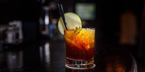 coctel-arándano-con-pina