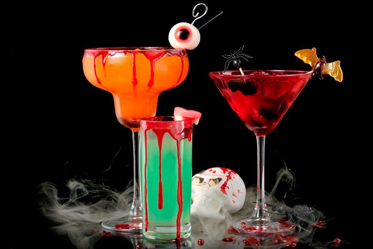 Bebidas para Halloween con y sin alcohol