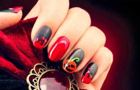 Uñas de Halloween